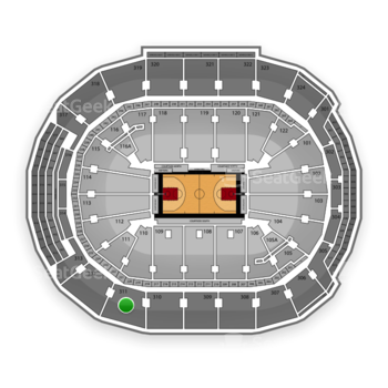 Toronto Raptors at Air Canada Centre Section 311 View