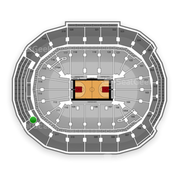 Toronto Raptors at Air Canada Centre Section 313 View