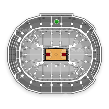Toronto Raptors at Air Canada Centre Section 321 View