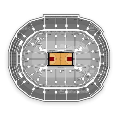 Air Canada Centre seating chart Toronto Raptors