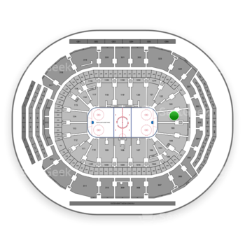 Toronto Maple Leafs at Scotiabank Arena Section 102 View