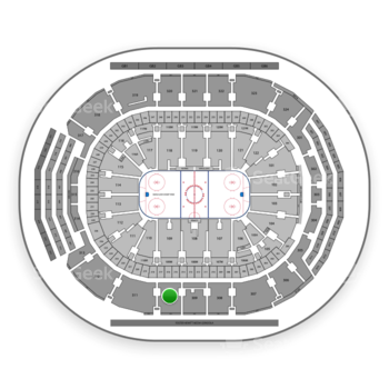 Toronto Maple Leafs at Scotiabank Arena Section 310 View