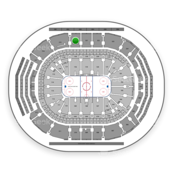 Toronto Maple Leafs at Scotiabank Arena Section 320 View