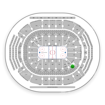 Toronto Maple Leafs at Scotiabank Arena Section 105 View