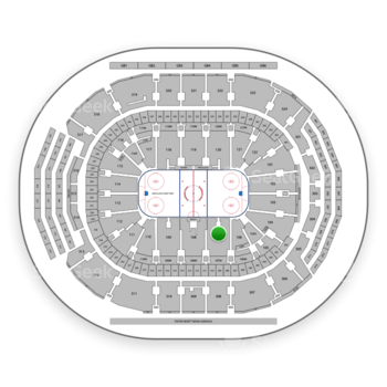 Toronto Maple Leafs at Scotiabank Arena Section 107 View