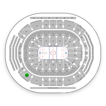 Toronto Maple Leafs at Scotiabank Arena Section 312 View