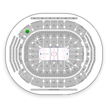 Toronto Maple Leafs at Scotiabank Arena Section 318 View