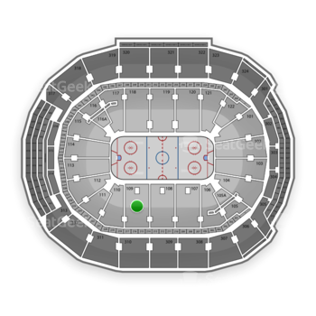 Toronto Maple Leafs at Air Canada Centre Section 109 View