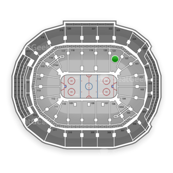 Toronto Maple Leafs at Air Canada Centre Section 121 View
