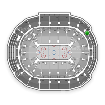 Toronto Maple Leafs at Air Canada Centre Section 301 View