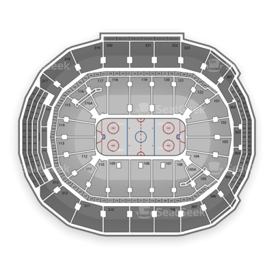 Air Canada Centre seating chart Toronto Maple Leafs