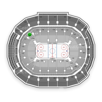 Toronto Maple Leafs at Air Canada Centre Section 116 View