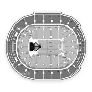 Air Canada Centre Seating Chart Concert