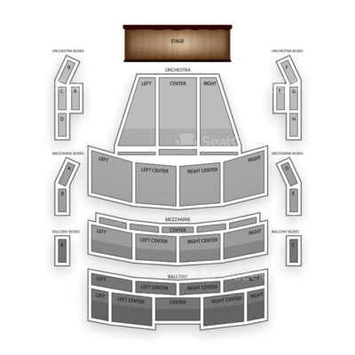 Broward Center for the Performing Arts seating chart Fort Lauderdale Speaker Series