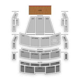 Broward Center for the Performing Arts Seating Chart Family