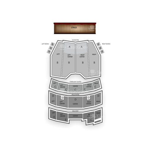 Majestic Theatre San Antonio Seating Chart