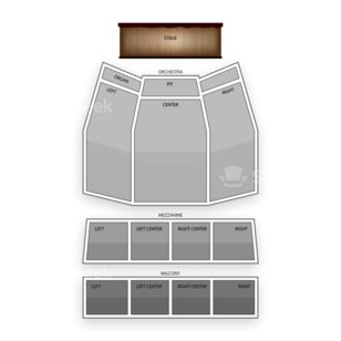 The Plaza Theatre Performing Arts Center Seating Chart Classical