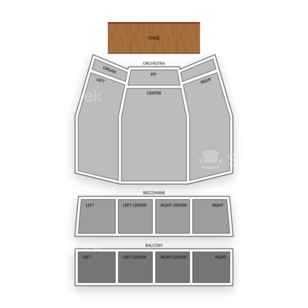 The Plaza Theatre Performing Arts Center Seating Chart Broadway Tickets National