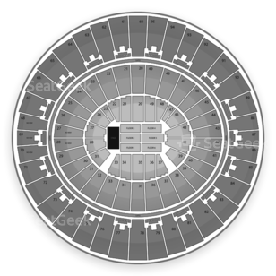 Frank Erwin Center Seating Chart Concert