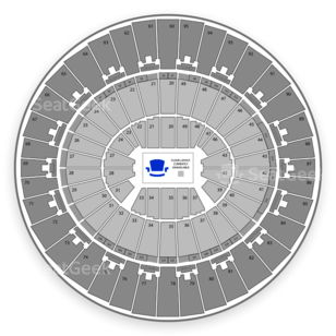 Frank Erwin Center Seating Chart Theater