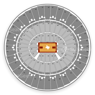 Frank Erwin Center Seating Chart Basketball
