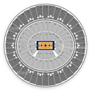 Texas Longhorns Womens Basketball Seating Chart