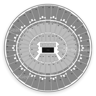 Frank Erwin Center Seating Chart Music Festival