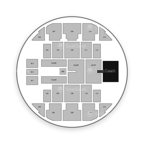 Brick Breeden Fieldhouse Seating Chart Concert