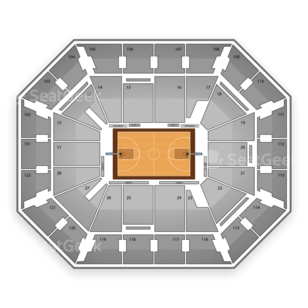 2014 American Athletic Conference Womens Basketball Tournament Seating Chart