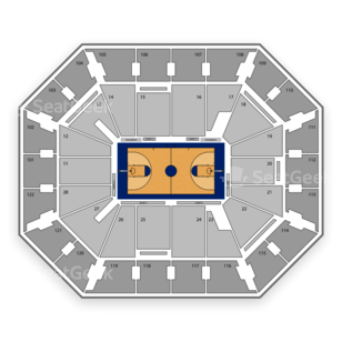 Mohegan Sun Arena Seating Chart NCAA Basketball