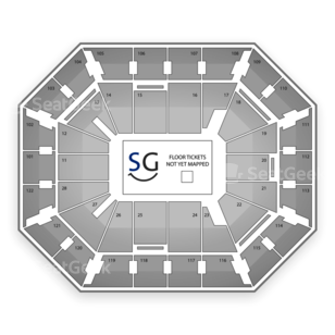 Mohegan Sun Arena Seating Chart Music Festival