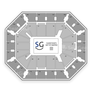 Mohegan Sun Arena Seating Chart Theater