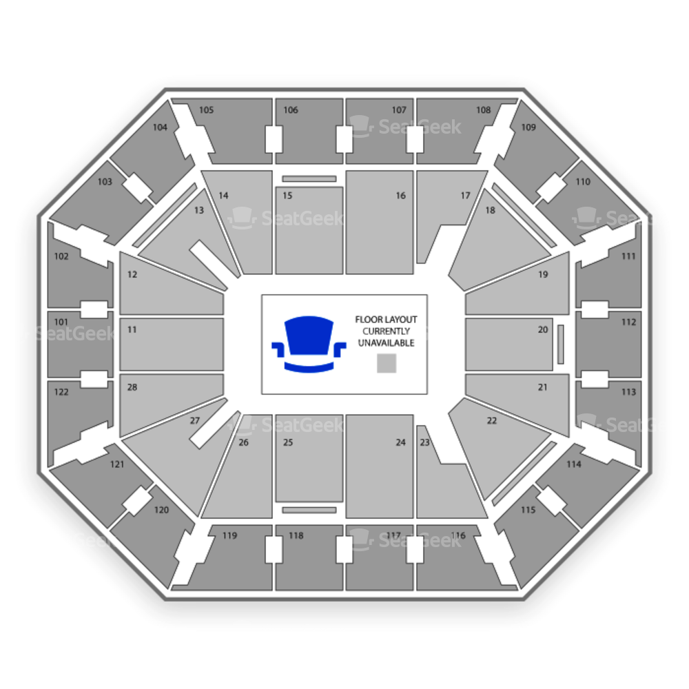 Mohegan Sun Arena Seating Chart Sports