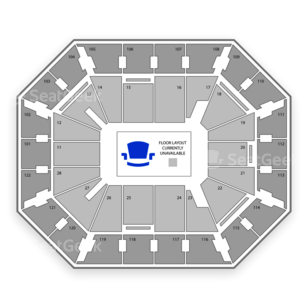 Mohegan Sun Arena Seating Chart Fighting