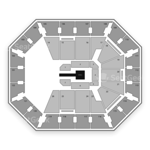 Mohegan Sun Arena Seating Chart Wrestling
