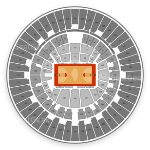 Illinois Fighting Illini Basketball Seating Chart