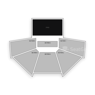 Kiva Auditorium Seating Chart Comedy