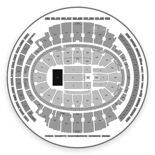 Msg Knicks Virtual Seating Chart Best Picture Of Chart
