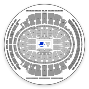 New york knicks seating chart interactive map seatgeek for Madison square garden parking