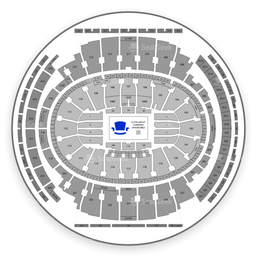 Madison Square Garden Seating Chart Parking & Map