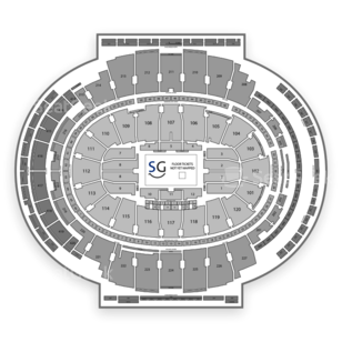 Madison Square Garden Seating Chart Fighting