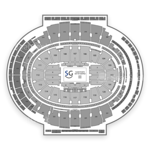Madison Square Garden Seating Chart NCAA Football