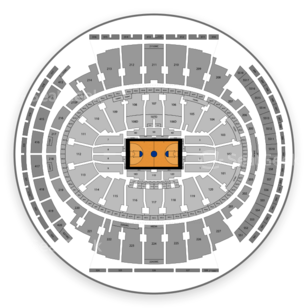 Big East Men's Basketball Tournament Seating Chart