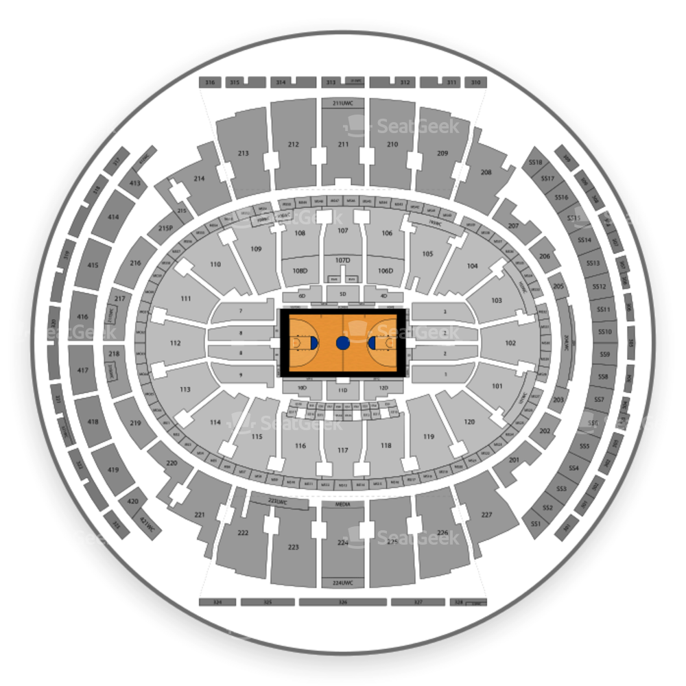Madison Square Garden Seating Chart WNBA