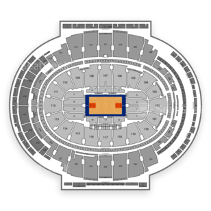 Madison Square Garden Seating Chart NBA