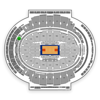 NBA at Madison Square Garden Section 216 View