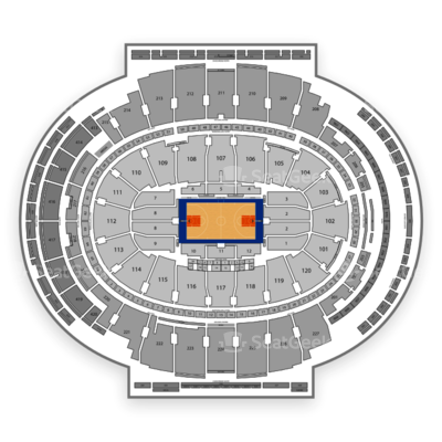 Madison Square Garden seating chart New York Knicks