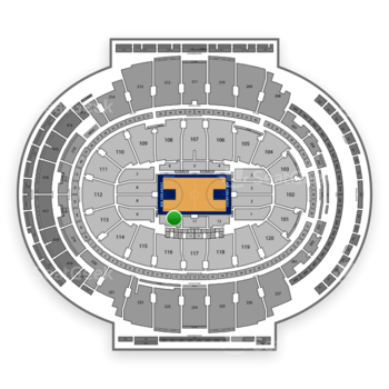 New York Knicks at Madison Square Garden Section 10 View