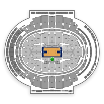 New York Knicks at Madison Square Garden Section 11 View