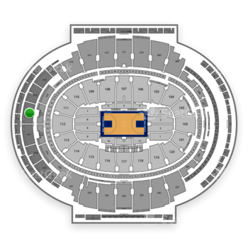 New York Knicks at Madison Square Garden Section 416 View